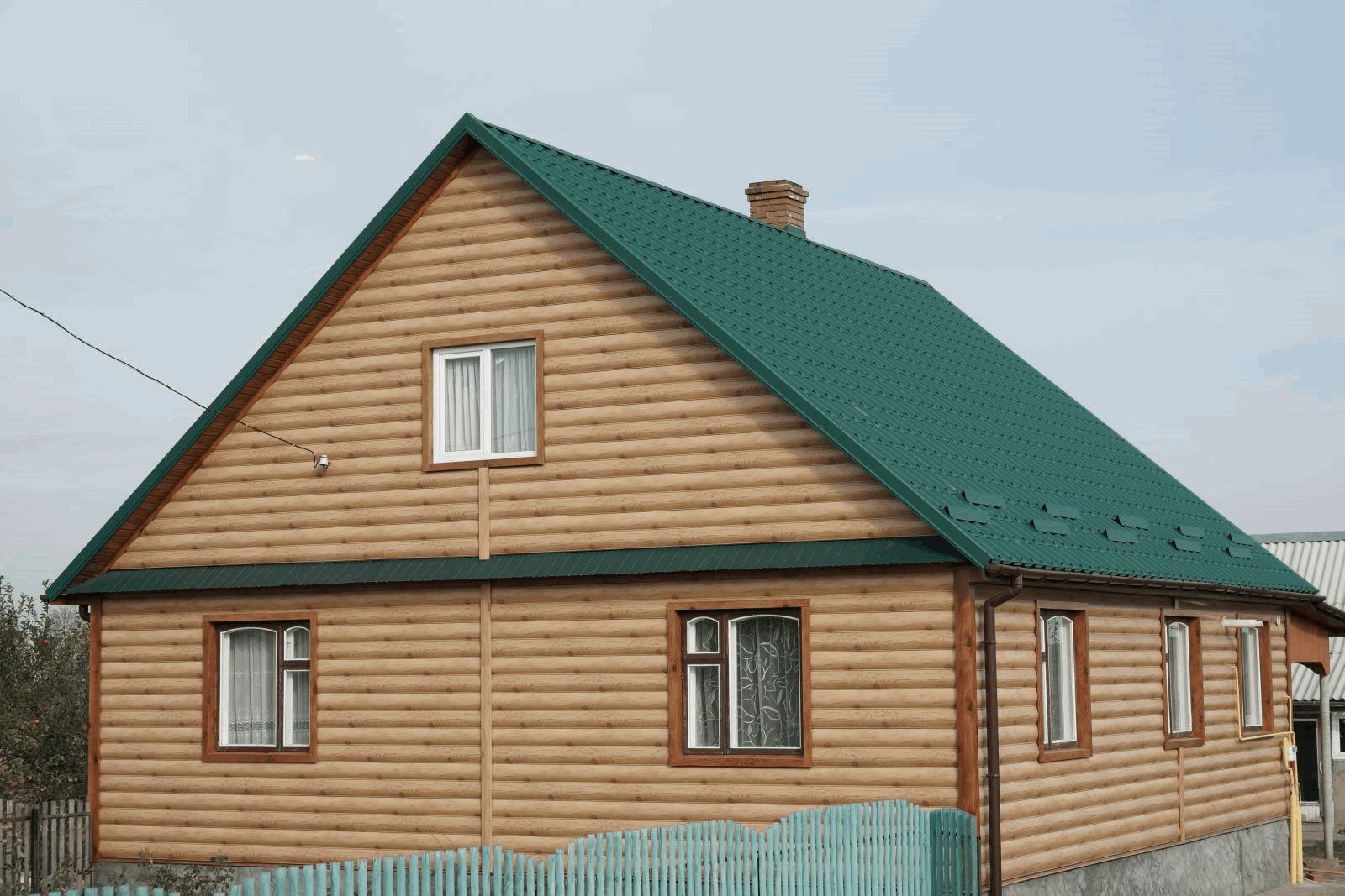 Металлический Сайдинг (Блок-хаус)